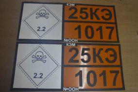 Таблички для автомобилей