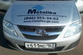 Брендирование авто для производителя комплектующих для оконных производств