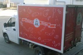 Брендирование авто для производителя мяса индейки